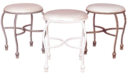 Vanity Stools For Use In Womenu0027s Bathroom When Putting On Make Up